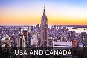 new york, canada, usa