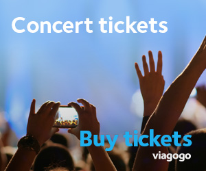 viagogo संगीत कार्यक्रम टिकट